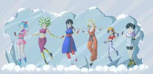 Frozen Dragon Ball Girls