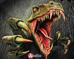 Dinosour Digital Artwork