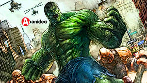 Hulk Digital Artwork
