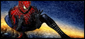 spiderman painting 2