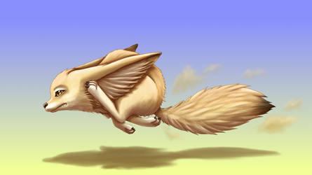 Fast Fennec Fox by JeMiChi