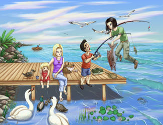 Family Vacation by JeMiChi