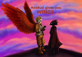 RedBull gives you WINGS by JeMiChi