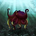 Coconut octopus by JeMiChi