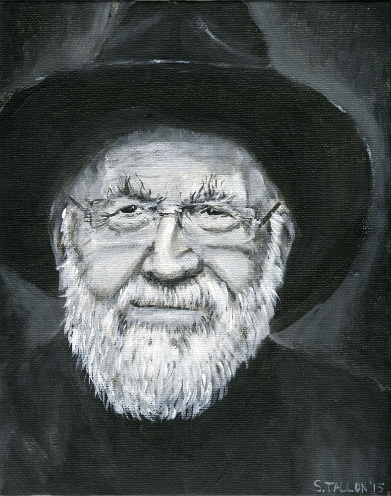 Sir Terry Pratchett by Puddingbat