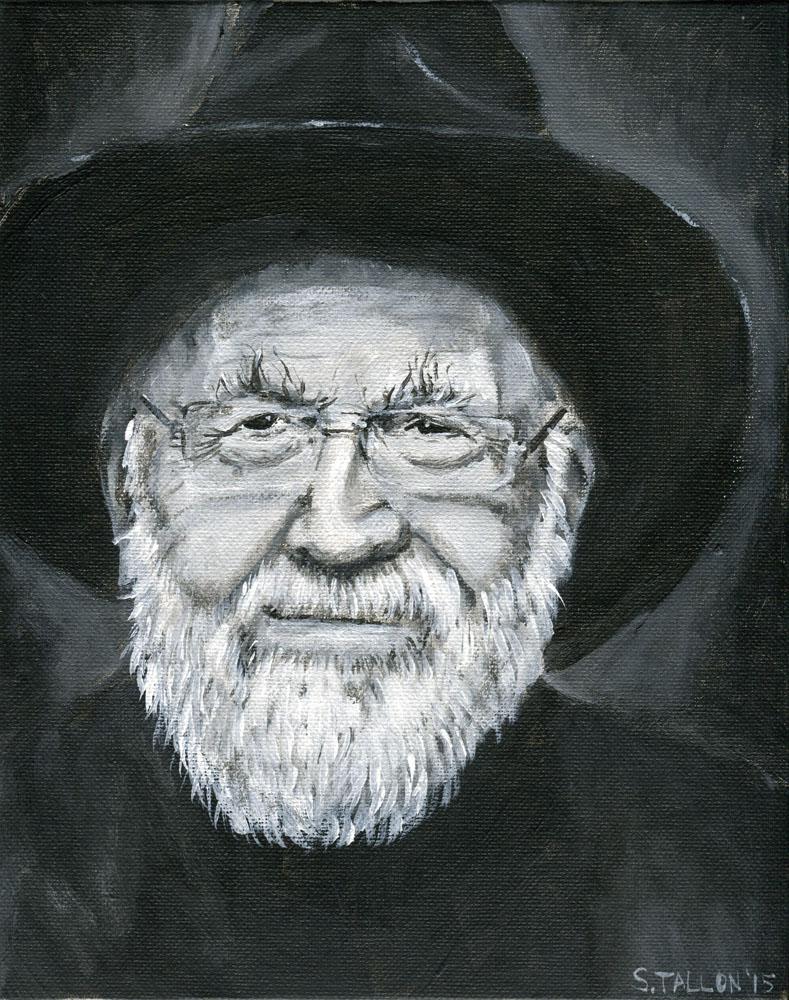 Sir Terry Pratchett by Puddingbat