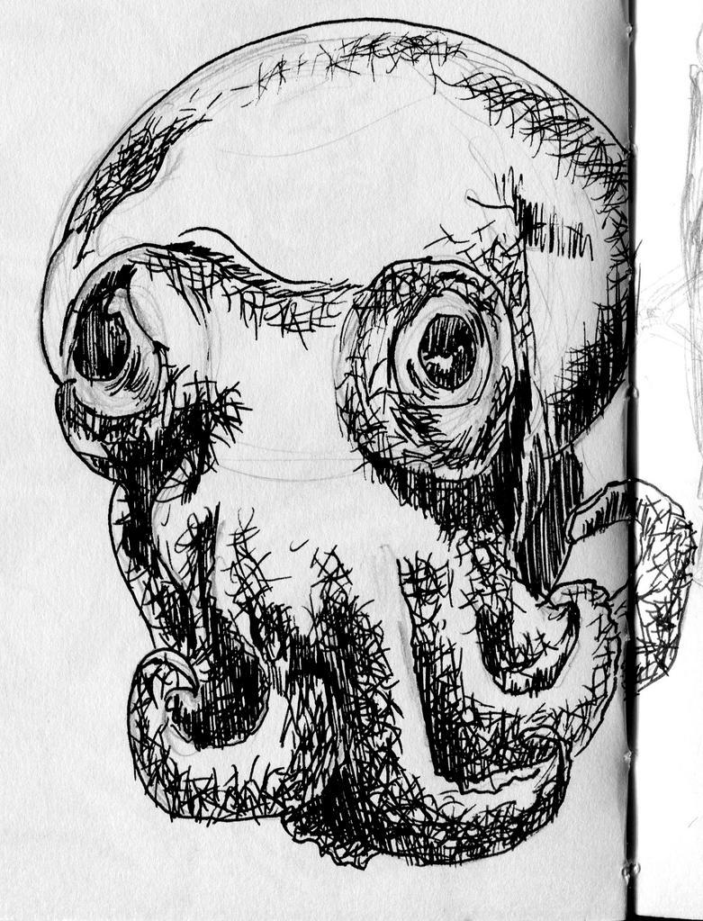 Tiny Cephalopod by Puddingbat