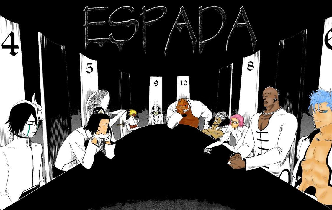 Bleach Espada By Eeoralis1
