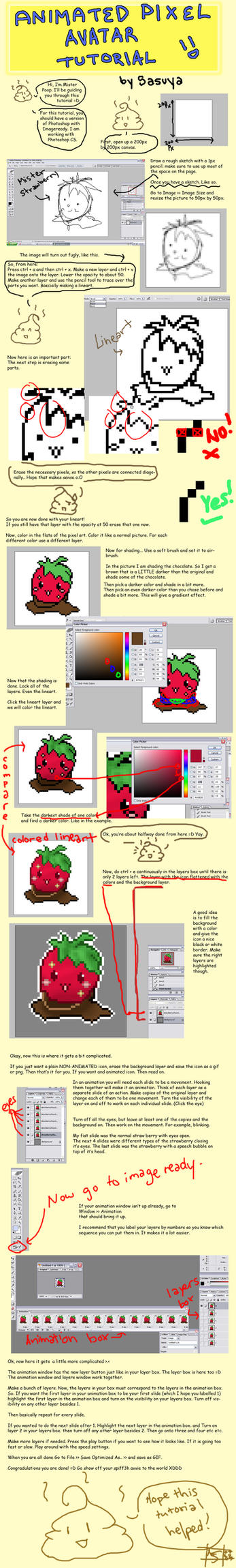 .:: Pixel Avatar Tutorial ::. by Sasuya