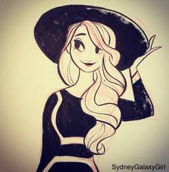Cute Girl w/ Hat