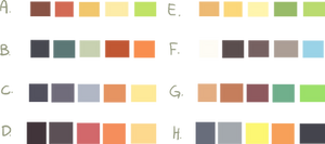 Color Schemes -Free to Use-