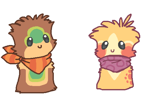 2 Scarfblob Auctions ENDED by Smushey
