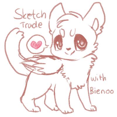 Sketch Trade! by Smushey