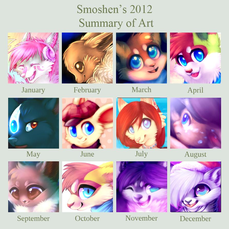 Summary of 2012! by Smushey