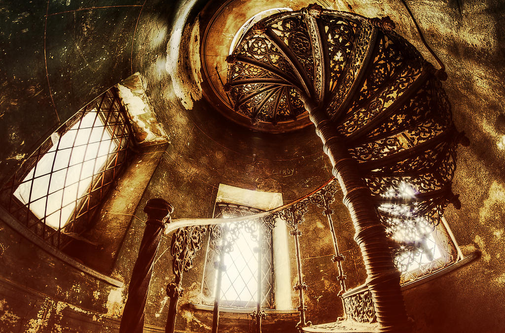 staircase IV by Remiorski