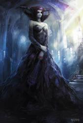 Dark Witch II by AlexRaspad