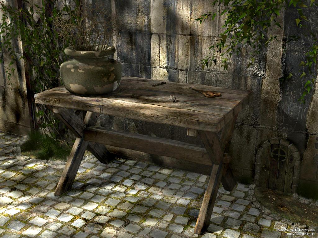 Old Garden by mal-callm