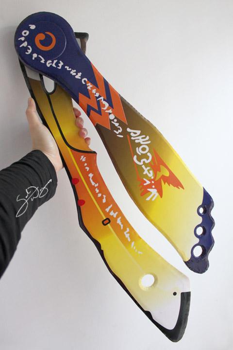 Hope Estheim's Airwing/Boomerang by yueki