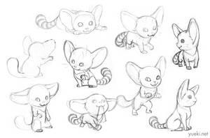 Remlit Sketch Dump by yueki