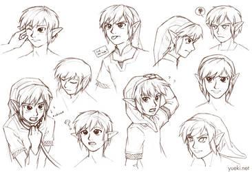 Link Making Faces... Sketch Dump