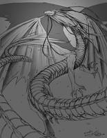 Sohryu, Shikigami Dragon by yueki