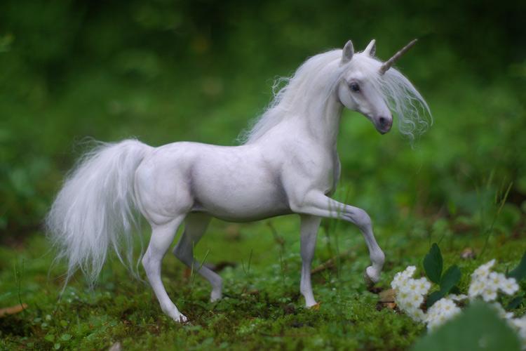 Dappled Unicorn Mare II by SovaeArt