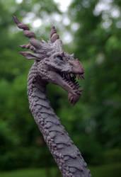 Dragon Sculpture - Ryujin III by SovaeArt