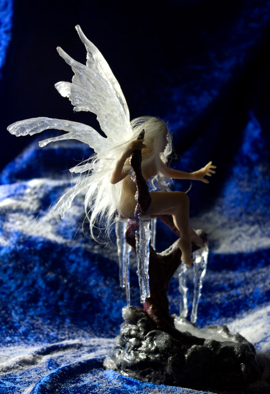 Ice Fairy Sculpture by SovaeArt