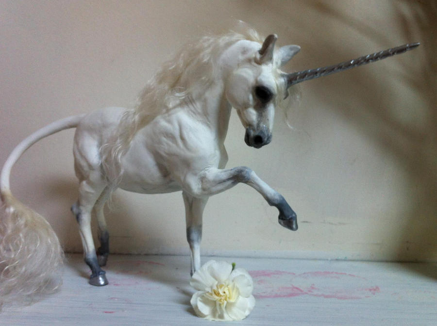 Silvery Unicorn Sculpture By SovaeArt On DeviantArt
