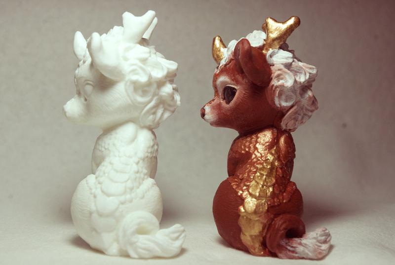 Baby Kirin 4 by SovaeArt