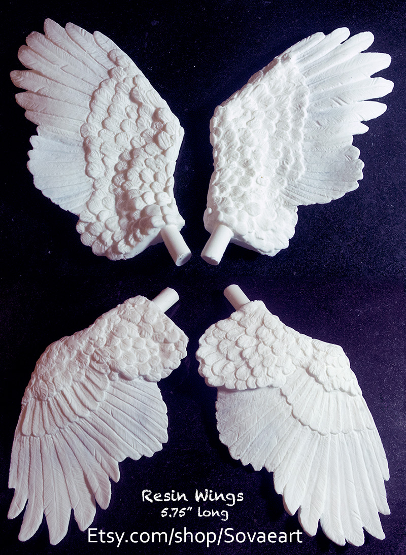 Resin Wings Remold by SovaeArt
