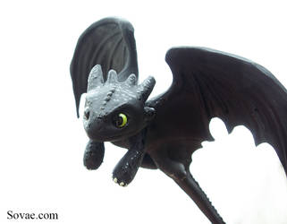 Toothless by SovaeArt
