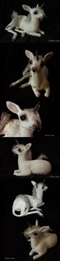 Baby Unicorn Sculpture 2013