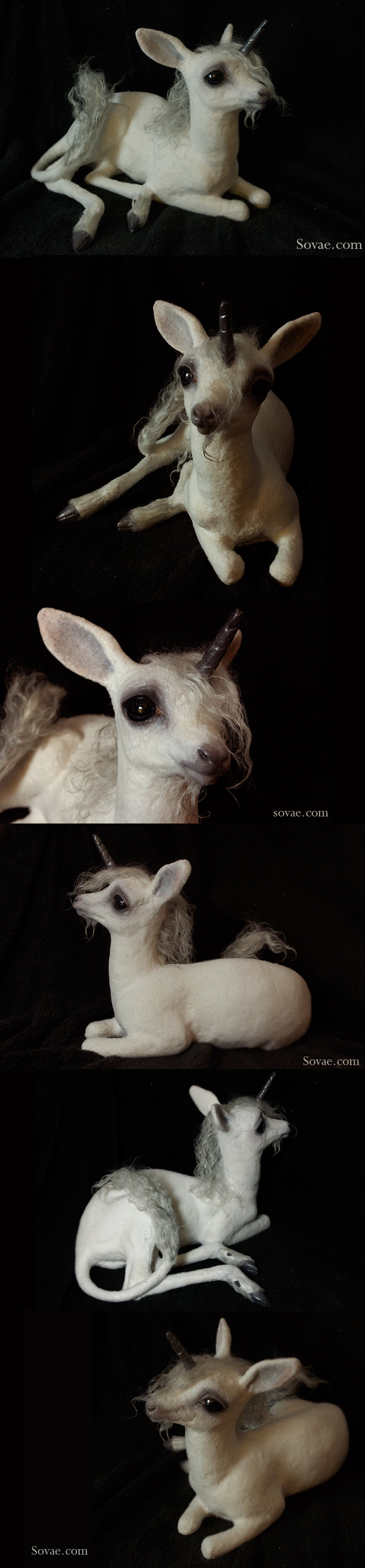 Baby Unicorn Sculpture 2013 by SovaeArt