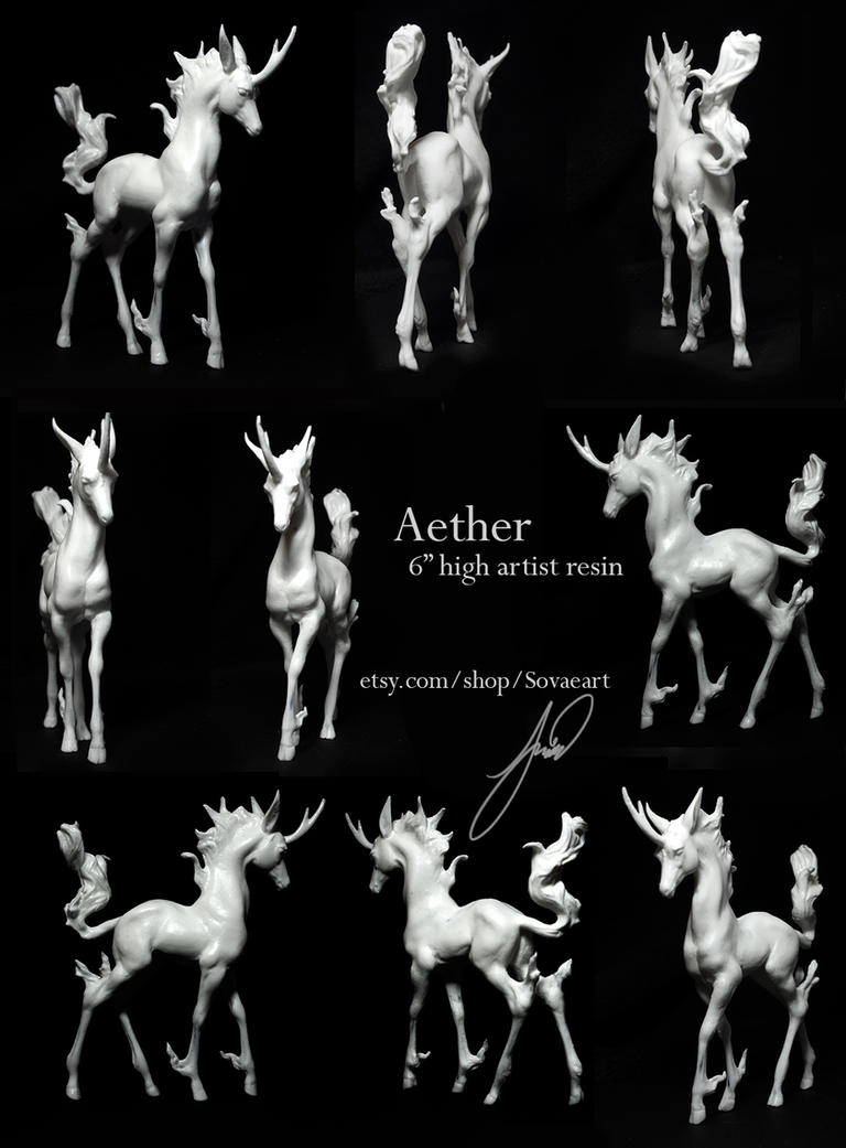 Aether - Kirin Resin by SovaeArt