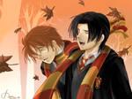 Young Remus n Sirius