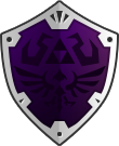 Hylian Shield by CodeNamePlayer