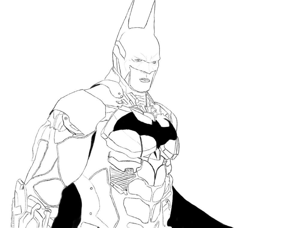 Batman Arkham Knight Batman Sketch By PopCultureArt On DeviantArt