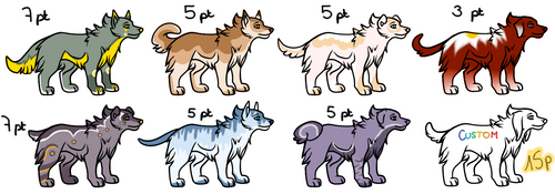 FREE Adoptables (3/8 OPEN) #4 by Adrenalean