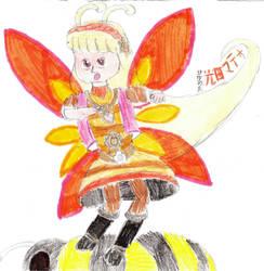 Bumble(bee)ing Selena by DBCDude01