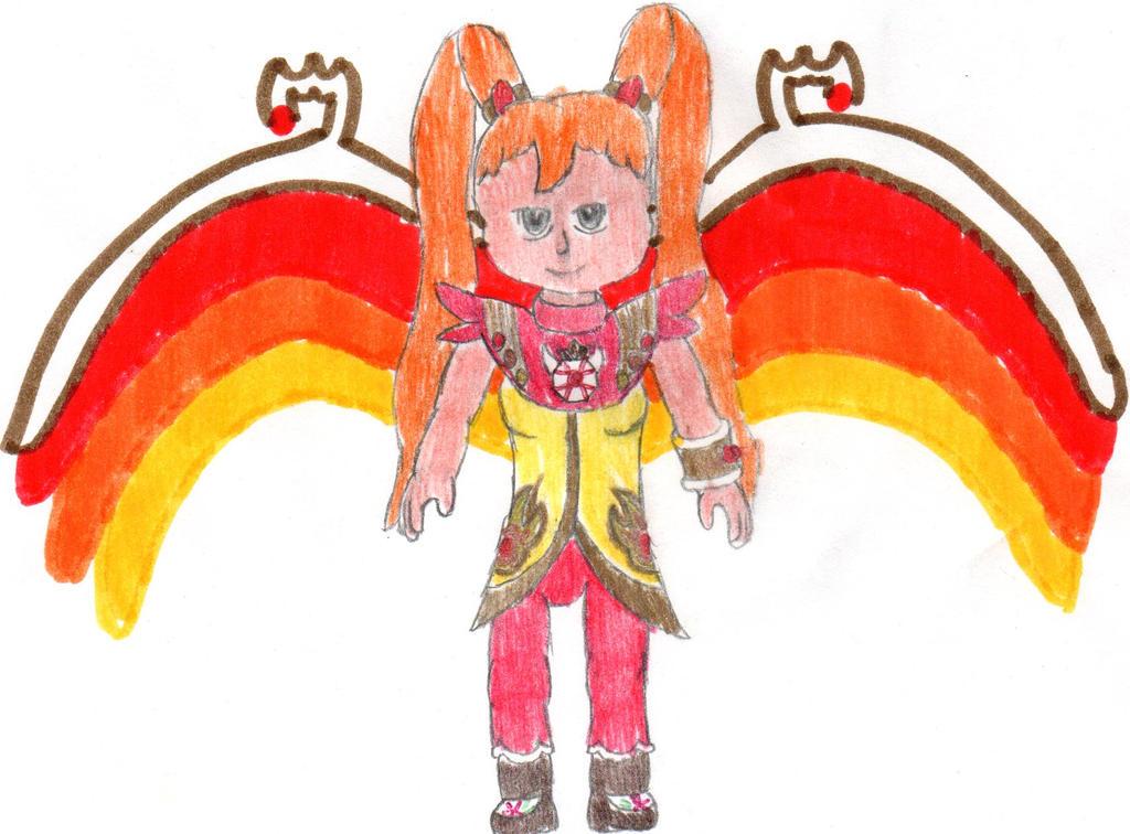 Super Angelic Flame, Haruka Renge by DBCDude01