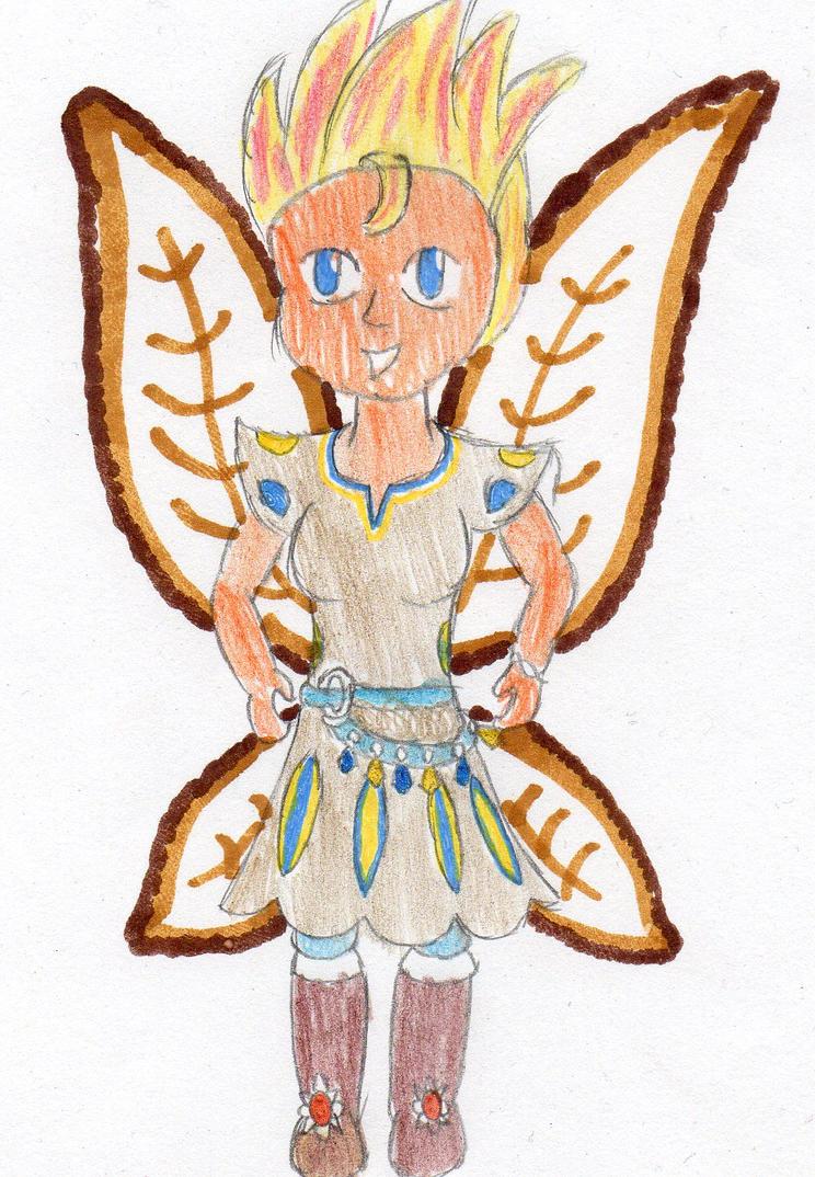 Sana, the Sunshine Fairy by DBCDude01