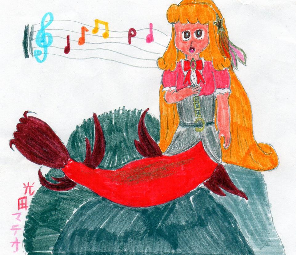 Chantelle Sings on the Rocks by DBCDude01