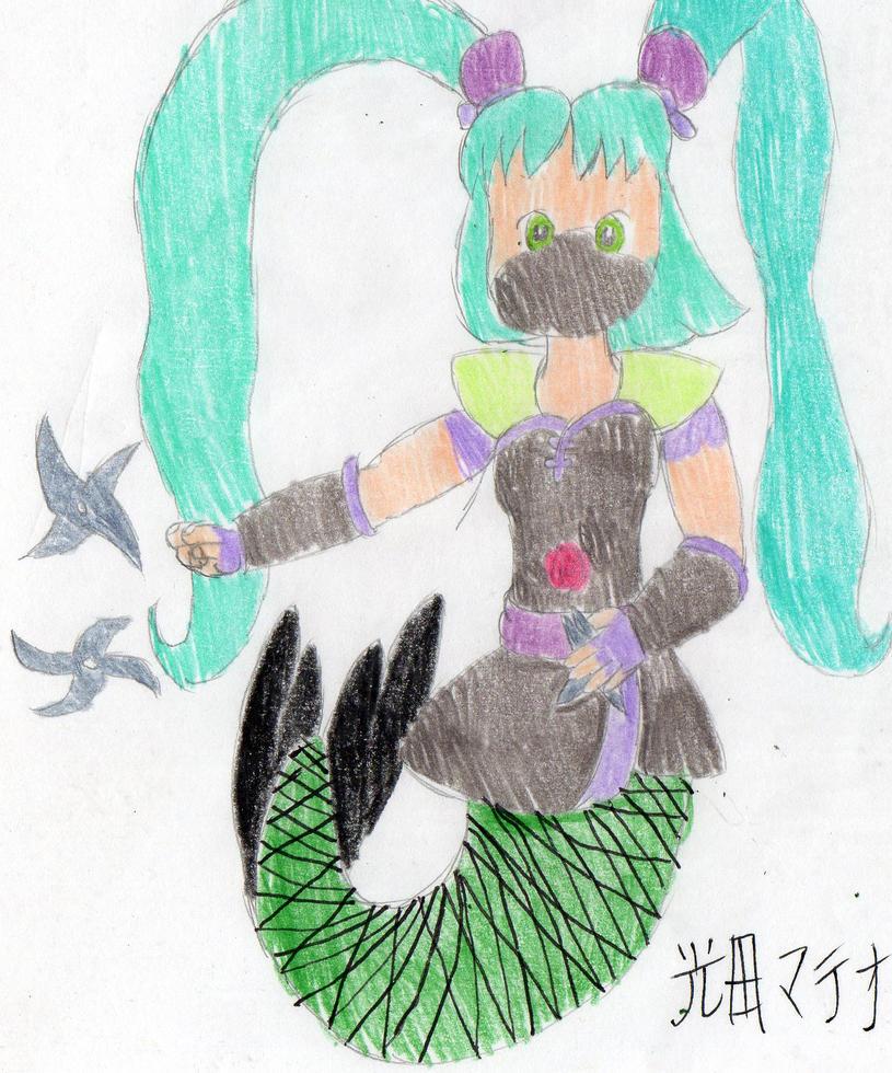 Midori's Star Attack by DBCDude01