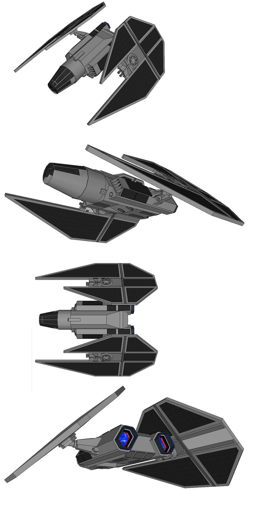 T.I.E. Golem type 1 by FrostLupus