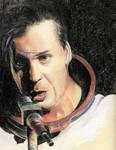 Till Lindemann in pastel