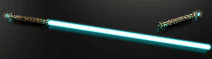 Dwarven Lightsaber - Sabre laser Dwemer - OC i TES by Etrelley