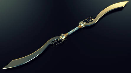 Epee Double - Double Sword - OC by Etrelley