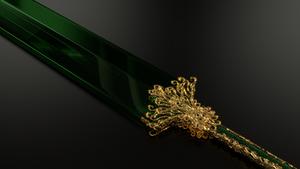 Emerald Blade - Lame d'Emeraude by Etrelley