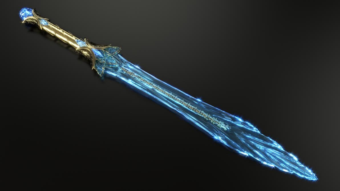 Bladed Fan Weapon : Chillrend cristalgide fan art tes by etrelley on